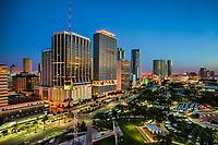 Downtown Miami & Bayfront Park (Sunrise)