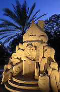Fairytale Sand Sculpture
