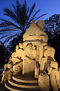 Fairytale Sand Sculpture