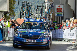 UCI car during the Men Under 23 Road Race 179.9km Race from Kufstein to Innsbruck 582m at the 91st UCI Road World Championships 2018 / RR / RWC / on September 28, 2018 in Innsbruck, Austria.  Photo by Vid Ponikvar / Sportida