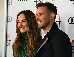 November 8, 2018 - ELIZABETH CHAMBERS and ARMIE HAMMER attends the Opening Night World Premiere Gala Screening of 'On The Basis Of Sex' at AFI FEST 2018 Presented By Audi at TCL Chinese Theatre (Credit Image: © Billy Bennight/ZUMA Wire)