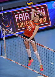 09-01-2016 TUR: European Olympic Qualification Tournament Rusland - Nederland, Ankara<br /> De strijd om Rio of Japan / Lonneke Sloetjes #10