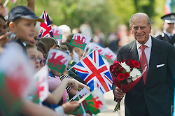 File photo dated 29/04/14 of the Duke of Edinburgh during a visit to the Royal Dockyard Chapel in Pembroke Dock, Wales. The Duke of Edinburgh has died, Buckingham Palace has announced. Issue date: Friday April 9, 2020.. See PA story DEATH Philip. Photo credit should read: Bethany Clarke/PA Wire
