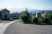 Cimetière d'Ajaccio, cemetery at Ajaccio, Corsica, France in 1998
