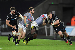 Ospreys' Hanno Dirksen<br /> <br /> Photographer Mike Jones/Replay Images<br /> <br /> Guinness PRO14 Round Round 15 - Ospreys v Southern Kings - Friday 16th February 2018 - Liberty Stadium - Swansea<br /> <br /> World Copyright © Replay Images . All rights reserved. info@replayimages.co.uk - http://replayimages.co.uk