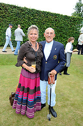 SIR STIRLING & LADY MOSS at the Cartier Style et Luxe, the Goodwood Festival of Speed, West Sussex on 13th July 2008.<br /> <br /> NON EXCLUSIVE - WORLD RIGHTS