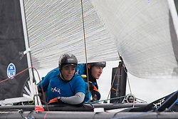 Second day of the Austria Cup 2014, 29-05-2014 (28 May - 1 June 2014). Gmunden - Lake Traunsee - Austria.
