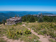 The hike to McNeil Point on the western flank of Mt. Hood, located outside of Zigzag, Oregon and Lolo Pass Road
