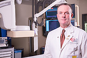 Cardiologist J. Kenneth Ford, MD, photographed Tuesday, May 12, 2015 at Baptist Health in Paducah, Ky. (Photo by Brian Bohannon/Videobred for Baptist Health)