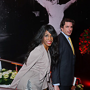 London,England,UK : 25th May 2016 : Sinitta and Jason Gale attend the Marilyn Monroe: Legacy of a Legend launch at the Design Centre, Chelsea Harbour, London. Photo by See Li