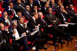 """Roma 21/01/2009 - IV Conferenza nazionale sul Digitale Terrestre dal titolo """"Niente è come prima"""". NELLA FOTO: La prima fila della sala."""