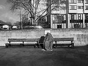 HOMELESS MAN, Hyde Park corner, London, 18 February 2016