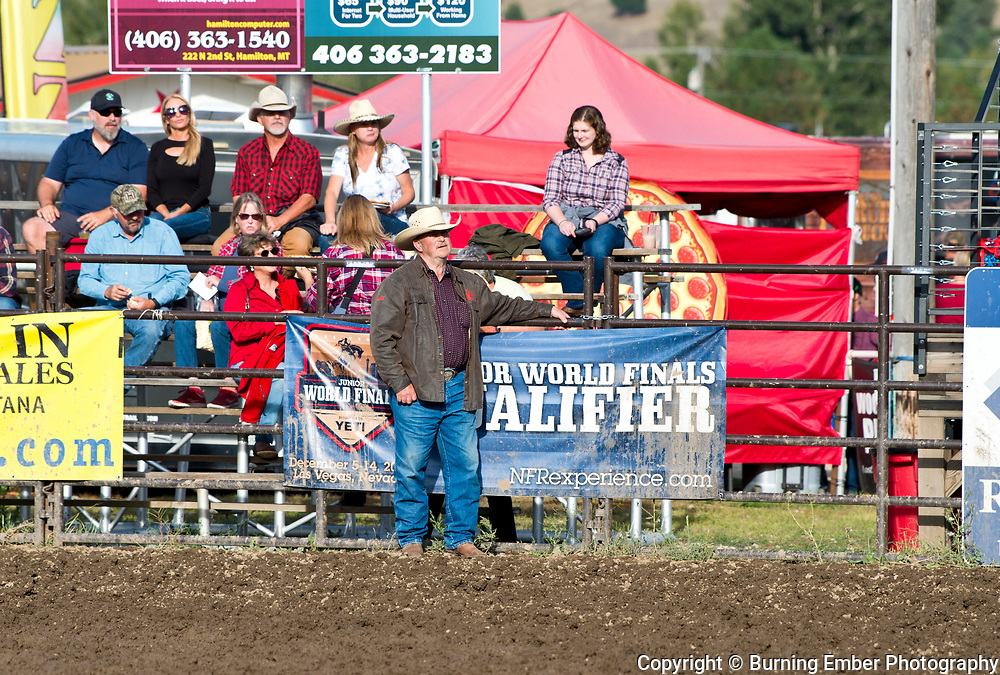 Cal Ruark at the Darby Broncs N Bulls event Sept 7th 2019.  Photo by Josh Homer/Burning Ember Photography.  Photo credit must be given on all uses.