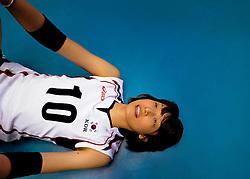 07-11-2010 VOLLEYBAL: WORLD CHAMPIONSHIP: PERU - KOREA: TOKYO<br /> Korea beat Peru with 3-1 / Yeon-Koung Kim<br /> ©2010-WWW.FOTOHOOGENDOORN.NL