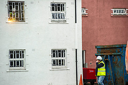 "Pictured: <br /> Justice Secretary Michael Matheson joined governor Caroline Johnstone to mark the start of demolition of Corton Vale Prison today. Cornton Vale is a women's prison in Stirling, operated by the Scottish Prison Service. Built in 1975, Cornton Vale comprises a total of 217 cells in its 5 houses. Ministers decided to close the prison after former Lord Advocate Elish Angiolini warned it was ""not fit for purpose"".<br />  <br /> Ger Harley 
