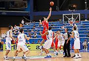 DESCRIZIONE : Vilnius Lithuania Lituania Eurobasket Men 2011 Second Round Grecia Georgia Greece Georgia<br /> GIOCATORE : Giorgi Shermadini <br /> SQUADRA : Georgia<br /> EVENTO : Eurobasket Men 2011<br /> GARA : Grecia Georgia Greece Georgia<br /> DATA : 12/09/2011 <br /> CATEGORIA : rimbalzo rebound<br /> SPORT : Pallacanestro <br /> AUTORE : Agenzia Ciamillo-Castoria/L.Kulbis<br /> Galleria : Eurobasket Men 2011 <br /> Fotonotizia : Vilnius Lithuania Lituania Eurobasket Men 2011 Second Round Grecia Georgia Greece Georgia<br /> Predefinita :