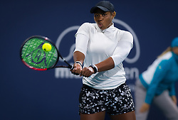 March 22, 2019 - Miami, FLORIDA, USA - Taylor Townsend of the United States in action during the second-round at the 2019 Miami Open WTA Premier Mandatory tennis tournament (Credit Image: © AFP7 via ZUMA Wire)