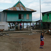 Children on the streets of Komodo. Komodo Island. Indonesia.
