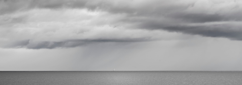 Sailing through the showers