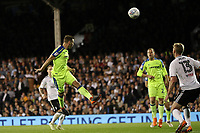 LONDON, ENGLAND - MAY 14:LONDON, ENGLAND - MAY 14:Andreas Weimann, of Derby County gets in a header