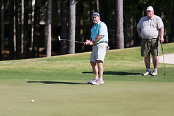 Chick-fil-A Peach Bowl Challenge Legends play a round of golf at the Oconee Course Reynolds Plantation, Wednesday, May 2, 2018, in Greensboro, Georgia. (Paul Abell via Abell Images for Chick-fil-A Peach Bowl Challenge)