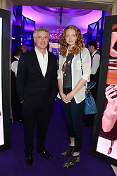 JOHN FRIEDA and LILY COLE at a party to celebrate 25 years of John Frieda held at Claridge's, Brook Street, London on 29th October 2013.