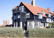 Glencairn Stuart Ogilvie developed Thorpeness as his private fantasy holiday village in the 1920s with buildings in Jacobean and Tudor styles, Thorpeness, Suffolk, England