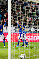 Malmö  2012-10-11  Fotboll  Landskamp  Brazil    - Iraq   :  .(Foto: Christer Thorell, Pic-Agency.com) Nyckelord : gool fotboll , football , soccer , Landskamp , Herrar , Men , Brazil , Iraq , .
