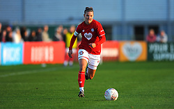 Loren Dykes of Bristol City in action- Mandatory by-line: Nizaam Jones/JMP - 27/10/2019 - FOOTBALL - Stoke Gifford Stadium - Bristol, England - Bristol City Women v Tottenham Hotspur Women - Barclays FA Women's Super League