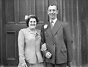 24/9/1952<br /> 9/24/1952<br /> 24 September 1952<br /> <br />  Wedding of Miss O'Dwyer at North William St. Church