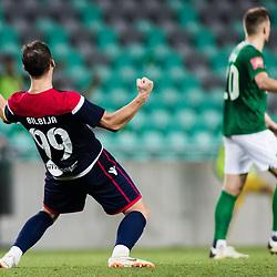 20200917: SLO, Football - UEFA League Europa Qualifiactions - NK Olimpija vs HSK Zrinjski