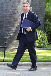 © Licensed to London News Pictures. 23/07/2019. London, UK. Justice Secretary David Gauke arrives in Downing Street to attend Theresa May's final Cabinet meeting. Photo credit: Dinendra Haria/LNP