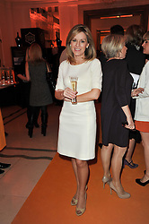 News reader ANDREA CATHERWOOD at the 38th Veuve Clicquot Business Woman Award held at Claridge's, Brook Street, London W1 on 28th March 2011.