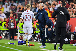 March 23, 2019 - Valencia, SPAIN - 190323 Martin Ødegaard and Lars Lagerbäck, head coach of Norway, during the UEFA Euro Qualifier football match between Spain and Norway on March 23, 2019 in Valencia..Photo: Vegard Wivestad Grøtt / BILDBYRÃ…N / kod VG / 170317 (Credit Image: © Vegard Wivestad GrØTt/Bildbyran via ZUMA Press)