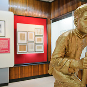 Statue and exhibit. The Museum of the Vietnamese Revolution in the Tong Dan area of Hanoi, not far from Hoan Kiem Lake, was established in 1959 and is devoted to the history of the socialist revolutionary movement in Vietnam.