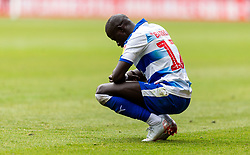 Reading's Madou Barrow looks dejected