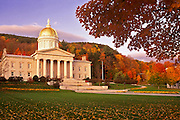 Image of the State Capitol in Montpelier, Vermont, American Northeast by Randy Wells