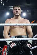 Boxen: Blitz & Donner, Schwergewicht, Hamburg, 24.03.2018<br /> Albon Pervizaj (GER) - Andre Bunga (GER)<br /> © Torsten Helmke