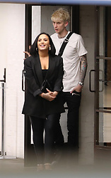 *PREMIUM EXCLUSIVE NO WEB UNTIL 1230 EST 6TH FEB* Demi Lovato and Machine Gun Kelly have sparked romance rumors after they were spotted leaving Soho House, in LA, together. Demi and MGK left Soho House at 2 A.M. in the morning. Demi got into her SUV, while MGK got into his two-door Aston Martin convertible. MGK followed Demi in her car and the duo were seen heading in the direction of her condo after Soho House. Demi, 27, was last romantically linked to Austin Wilson. They broke up in December 2019 following a brief romance. The singer's last long term romance was with Wilmer Valderrama and lasted almost six years. They met when she was 17 in 2010 and began dating when she turned 18. In early January, 29-year-old rapper MGK sparked romance rumors with his best friend Pete Davidson's ex Kate Beckinsale. The two had the internet going crazy after the entertainers were spotted leaving a Golden Globes after-party together. MGK previously sparked dating rumors with singer Halsey in 2017, and prior to that, he dated Amber Rose in 2015. The rapper currently has one daughter, Casie, 11, with his ex Emma Cannon. 05 Feb 2020 Pictured: Demi Lovato, Machine Gun Kelly. Photo credit: MEGA TheMegaAgency.com +1 888 505 6342