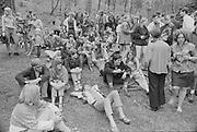 """1006-B013-37 """"Skinners Butte. Hippie festival. Spring 1967"""""""