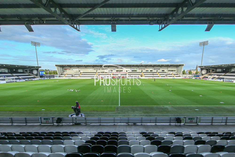 The Simple Digital Arena ahead of the 2019 FIFA Women's World Cup UEFA Qualifier match between Scotland Women and Switzerland at the Simple Digital Arena, St Mirren, Scotland on 30 August 2018.