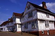 Guildhall medieval building architecture, Lavenham, Suffolk, England, UK