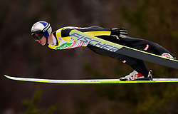 Second placed Thomas Morgenstern of Austria during Flying Hill Individual at 2nd day of FIS Ski Jumping World Cup Finals Planica 2011, on March 18, 2011, Planica, Slovenia. (Photo by Vid Ponikvar / Sportida)