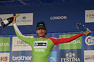 Japer Bovenhuis of the Netherlands and AN Post Chain Reaction wins the sprinters jersey during the Tour of Britain 2016 stage 8 , London, United Kingdom on 11 September 2016. Photo by Martin Cole.