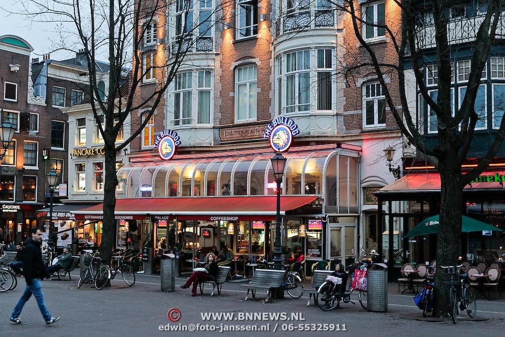 NLD/Amsterdam/20120313 - Coffeeshop The Bulldog Leidseplein Amsterdam