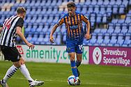 Ryan Barnett of Shrewsbury Town during the EFL Trophy match between Shrewsbury Town and U21 Newcastle United at Greenhous Meadow, Shrewsbury, England on 22 September 2020.