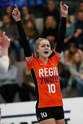 20180331 NED: Eredivisie Sliedrecht Sport - Regio Zwolle, Sliedrecht <br />Manon Zeeboer (10) of Regio Zwolle <br />©2018-FotoHoogendoorn.nl / Pim Waslander