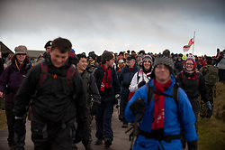 © licensed to London News Pictures. Okehampton, UK  14/05/2011 Thousands of young people take part in the 2011 Ten Tors event on Dartmoor. The hike sees the young people hiking either, 35, 45 or 55 miles. Please see special instructions for usage rates. Photo credit should read London News Pictures