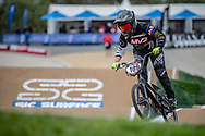 #109 (ROKOV Annaliese) AUS at Round 2 of the 2020 UCI BMX Supercross World Cup in Shepparton, Australia.
