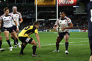 Kurtley Beale. NSW Waratahs v Hurricanes. 2010 Super 14 Rugby Union round 14 match played at the Sydney Football Stadium, Moore Park Australia. Friday 14 May 2010. Photo: Clay Cross/PHOTOSPORT